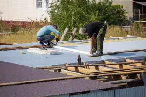 L'isolation de la toiture par l'extérieur